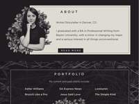 Kelsey Yandura Website Design