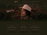 Harrison Connally Website Design