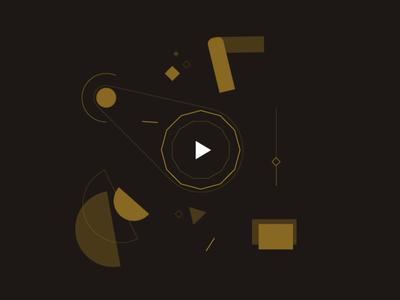 Cynaptek - Illustration 01 video ui design hover rejected rotate play slide wheel of fortune animation illustration