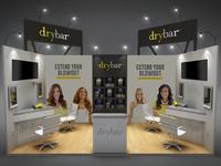 Drybar - Booth Design