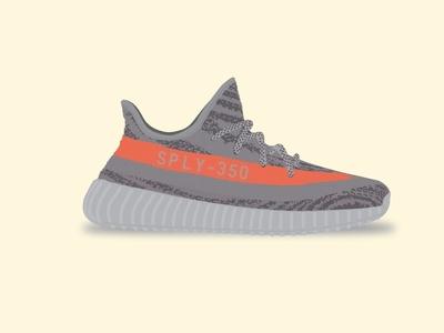 Yeezy Boost 350 V2 - Beluga beluga kanye vector shoe illustration adidas v2 350 boost yeezy