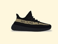 Yeezy Boost 350 V2 - Olive