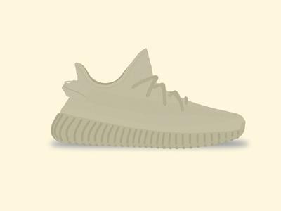 Yeezy Boost 350 V2 - Dark Greens (cancelled) yeezy boost 350 v2 adidas illustration shoe vector kanye dark green