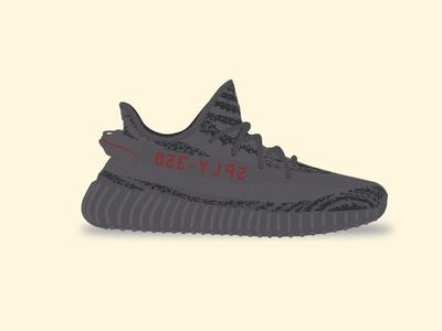Yeezy Boost 350 V2 - Beluga 2.0 yeezy boost 350 v2 adidas illustration shoe vector kanye beluga