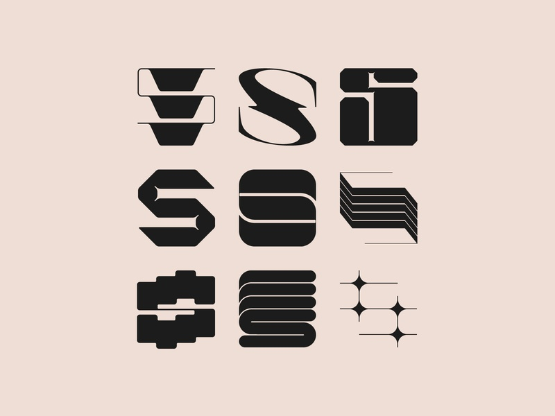 S - Typography explorations typographic letters typography design font design font typeface typography