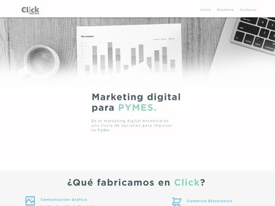 Click Landing Page
