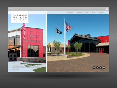 Garmann/Miller engineers seo design architect website