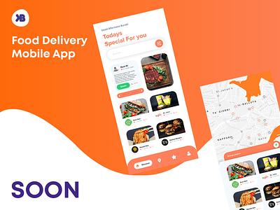 Food Delivery - Mobile App (SOON) app design delivery food