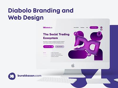 Diabolo Branding and Web Design ethereum branding bitcoin crypto trading web design