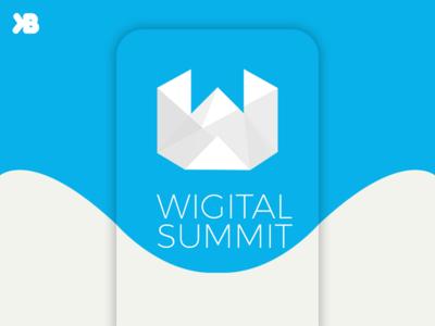 Wigital Summit Logo Design