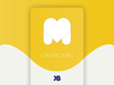 Casinomig - Casino Website web design ux ui game website casino design casino