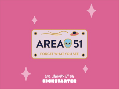 Licence plate from Area 51