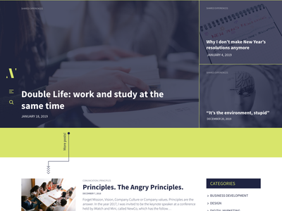 Angry Ventures Blog web design canadian canada webdesign european portugal brazil brasil branding animations animation after effects wireframes concept brand web ux information architecture ui