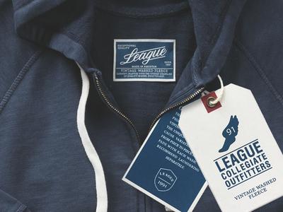 Vintage Fleece Hang Tag & Woven Label