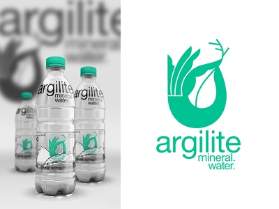 Argilite Mineral Water natural mineral water branding packaging