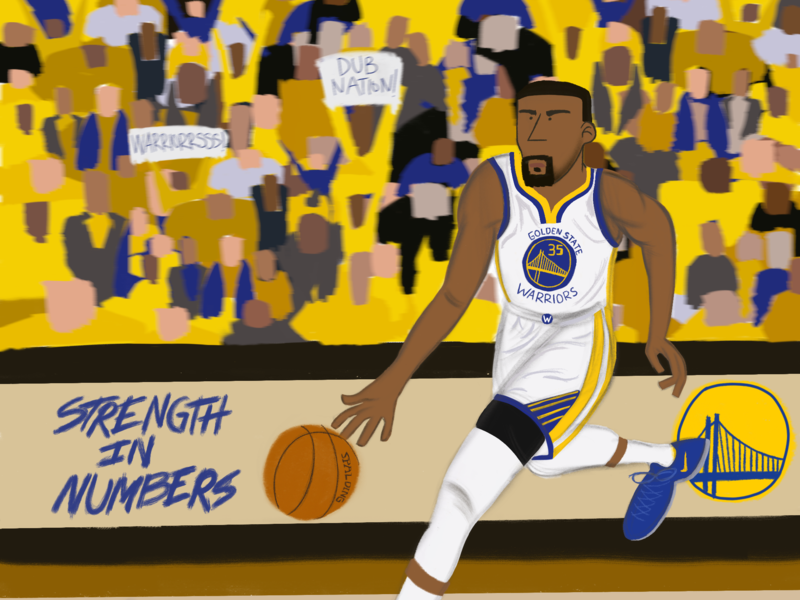 'I'm Kevin Durant. Y'all know who I am' painting character design cartoons digital painting storyartist story art strengthinnumbers nba finals nba basketball dubnation golden state warriors kevin durant drawing bay area character designer illustration artist