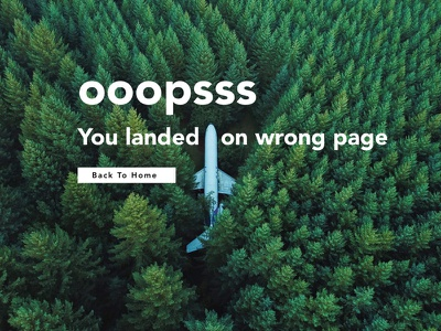 404 Error 404 error web ui web ui landing page