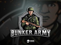 Bunker Army Esport Logo