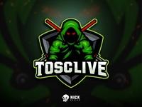 Tosclive Esport Logo
