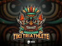 Tiki Triathlelete Logo