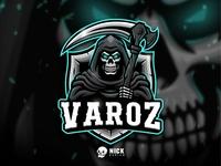 Grim Reaper Esport Logo (Varoz)