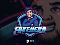Fakehero Esport Logo