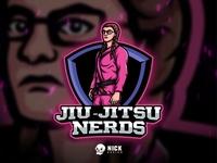 Jiu-Jitsu Nerds Logo