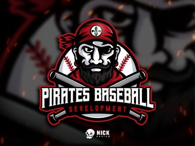 Pirates Baseball Development Logo