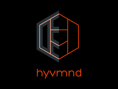 hyvmnd (Hivemind) boutique shared work space branding logo