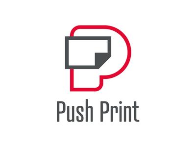 Push Print branding logo