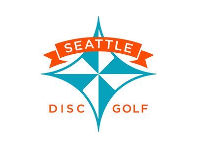 Seattle Disc Golf brand concept logo