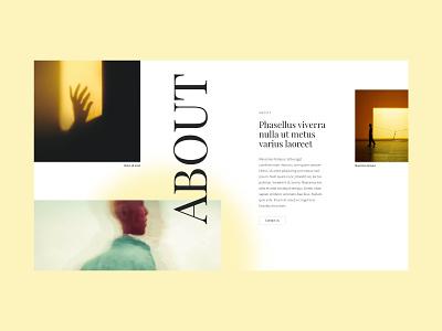 Debox – color content block blog magazine content color webdesign agency web website modern ui design creative