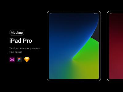 iPad Pro Mockup web device free showcase app presentation responsive apple tablet mockup ipadpro