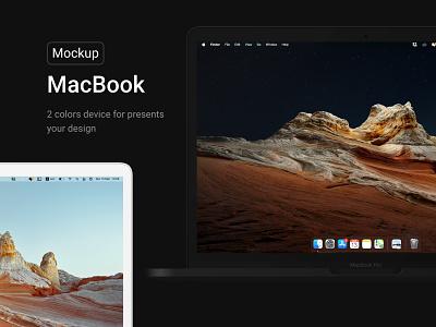 Apple MacBook Black & White Mockups app computer laptop screen product white black macbook apple shop mockup identity modern ui web branding website design creative