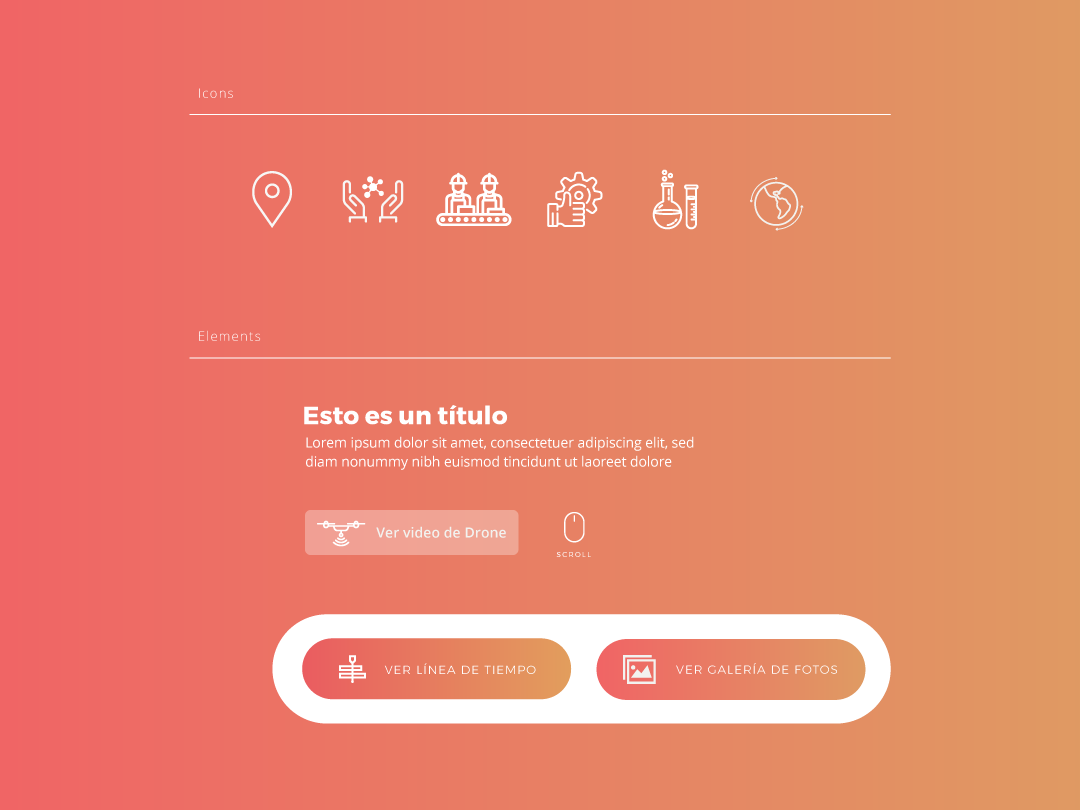 Icons and Elements Deriplom button elements icons ui design ui ux website design web