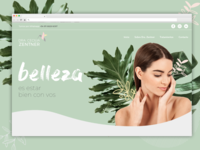 Aesthetic medicine website