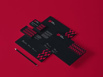 Business Card disk degger mockup branding brand identity