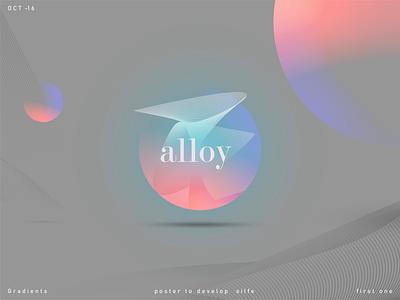 alloy poster color illustration poster design poster art