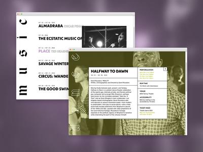 BAM Next Wave Festival (Fictional) Redesign