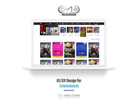 UI/UX Design Movies and Series Website