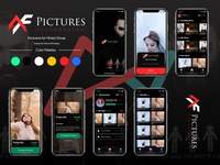 AmirFarzam Photography Mobile Application UI/UX Design