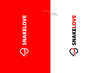 SNAKE Love inspiration Logo vector exprience application icon typography illustration branding illustrations illustrator snake logo logo snake