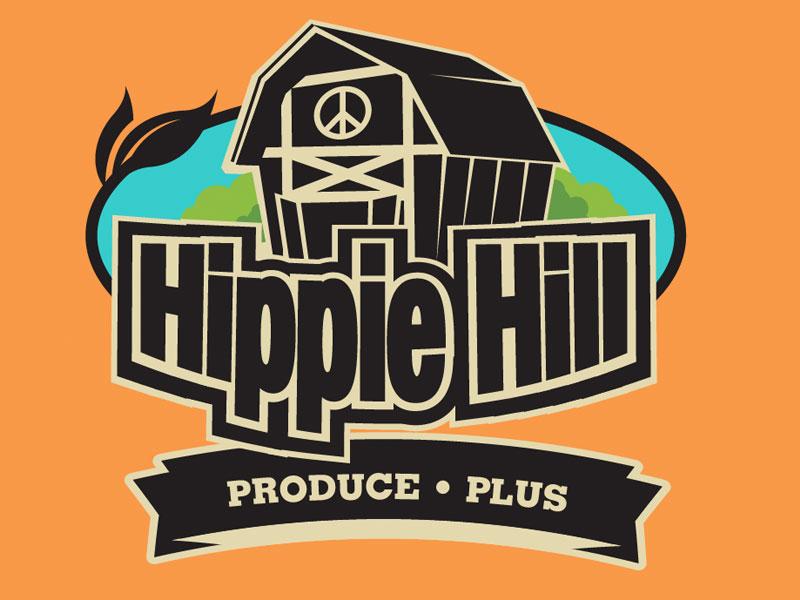 Hippie Hill Produce • Plus Logo 1 logo