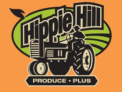 Hippie Hill Produce • Plus Logo 2 logo