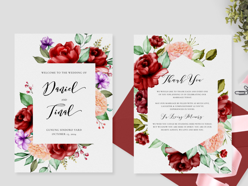 wedding invitation card with watercolor floral and leaves foliage wreath decoration leaf pattern summer celebration set frame nature spring invite invitation watercolor vector card design floral wedding illustration