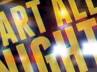 Art All Night Brochure Cover