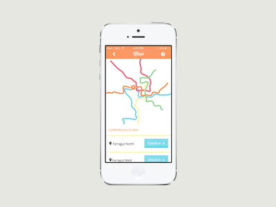 Muse app web metro transportation map