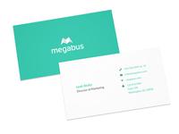 megabus business cards