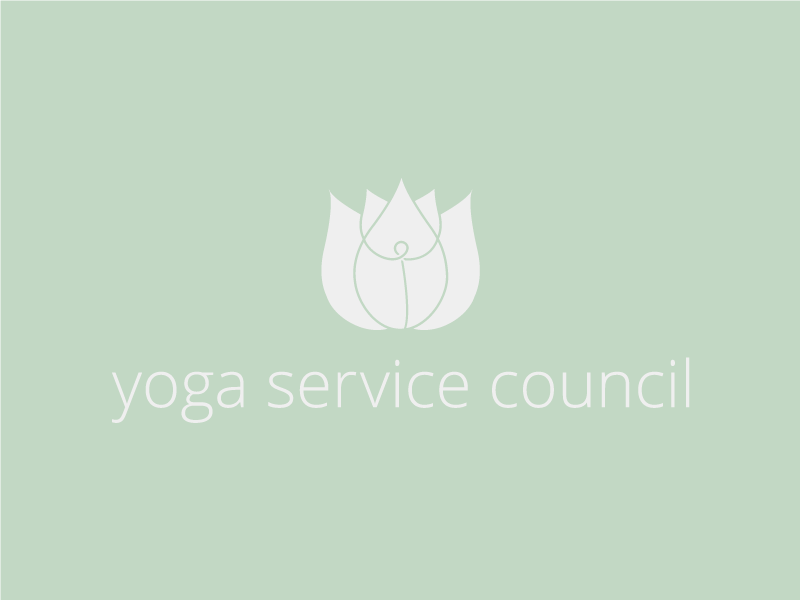 Yoga Service Council yoga lotus logo