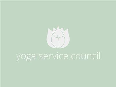 Yoga Service Council yoga lotus logo